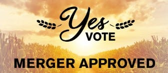 """Following a """"yes"""" vote, Wisconsin-based cooperatives Landmark Services and Countryside will merge in March 202."""