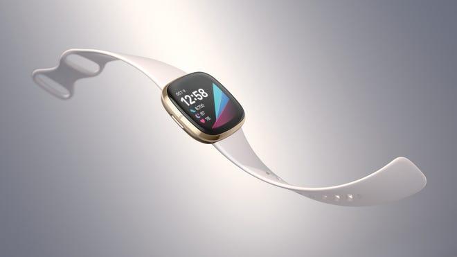 Fitbit's new Sense smartwatch.
