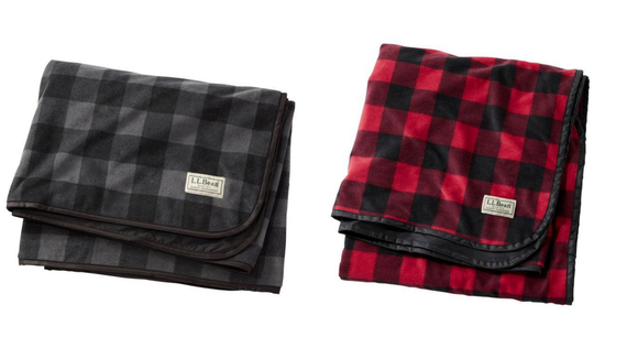 Stay cozy with a blanket that can take the elements.
