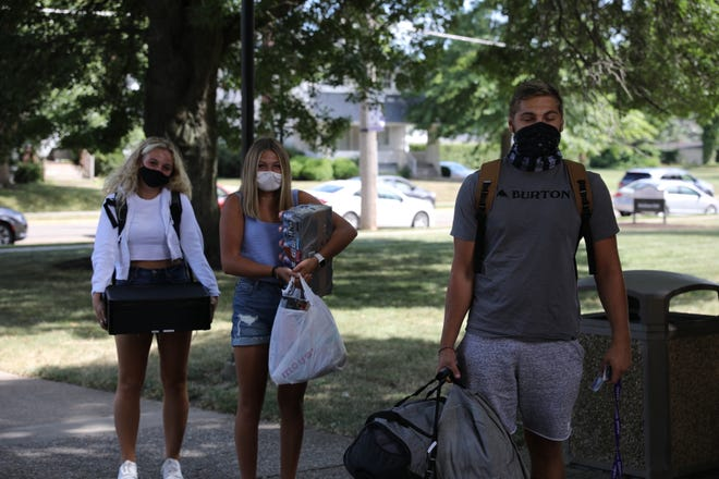 Freshmen students moved in this week to University of Mount Union, under new circumstances related to the COVID-19 pandemic.