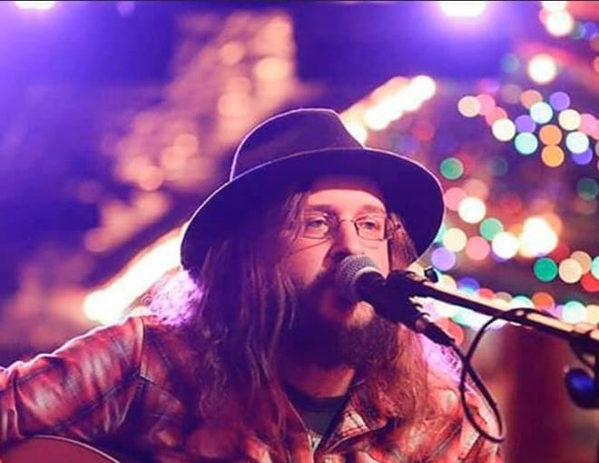 Dustin Lee Walker will be a featured artist at this month's Mount Pleasant Music on the Porch Series, a free concert taking place at 7 p.m. Saturday. (Courtesy photo)