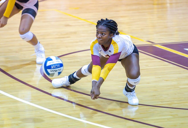 Bethune-Cookman University's Jordan Jefferson has been named to the Mid-Eastern Athletic Conference's preseason volleyball All-Conference team.