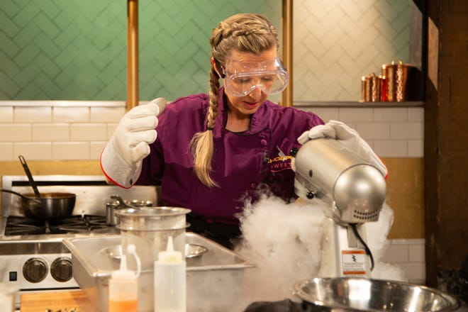 "Rebecca Reed was crowned a winner this week on Food Network's ""Chopped: Sweets."""
