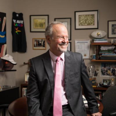 Human rights activist Richard Lapchick