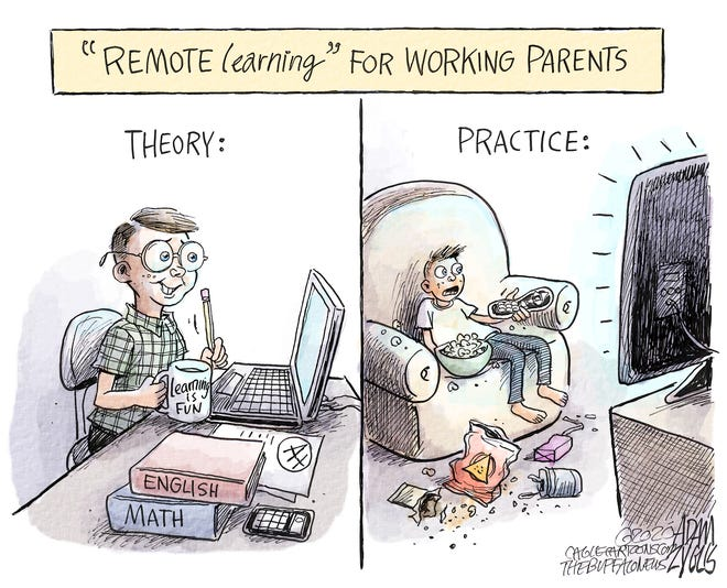 August 24, 2020: Remote learning