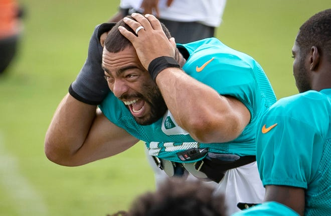 Miami Dolphins linebacker Kyle Van Noy played for the Patriots last year. He feels there are great similarities in the way the organizations are run.
