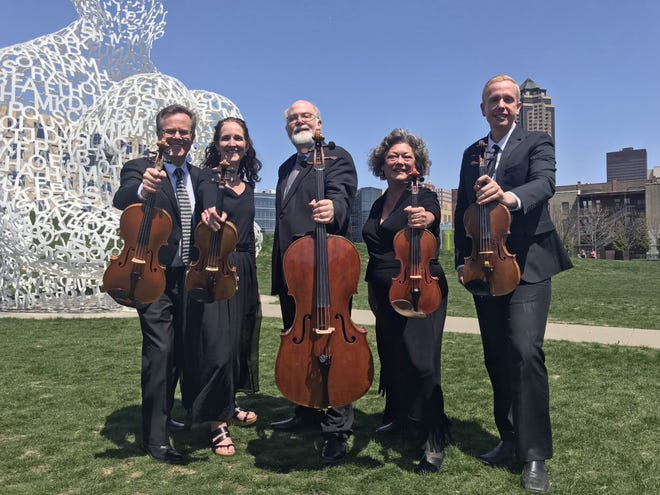 The Civic Music Association has long presented free summer concerts by the Belin Quartet, which this year played for online audiences via Facebook Live and YouTube. In 2019, the Civic Music Association received a $10,000 grant from A Community Thrives.