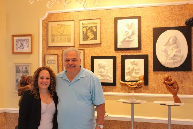 Tom Rosanio was a founding member of Zak's Jewelry. He's pictured with his daughter Alison Polo.