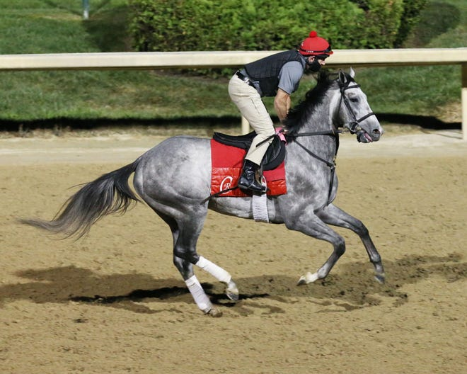 Enforceable figures to be charging late in the Kentucky Derby on Sept. 5 at Churchill Downs.