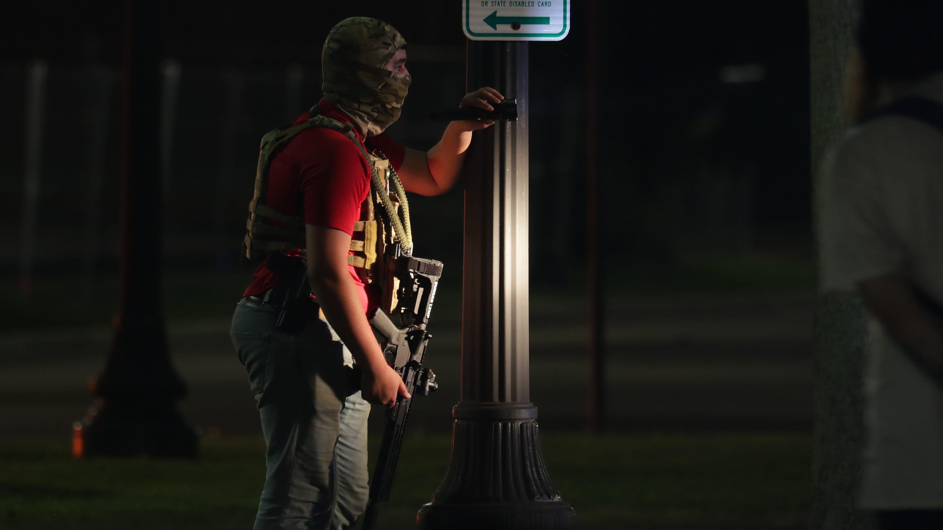 considered Kenosha Rittenhouse, Kyle Suspect  shooting: