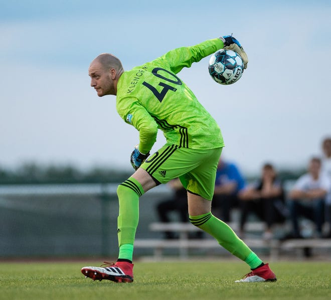 Eric Klenofsky, a former DePaul and Monmouth goalkeeper, is now playing for Toronto FC II in the United Soccer Leagues.