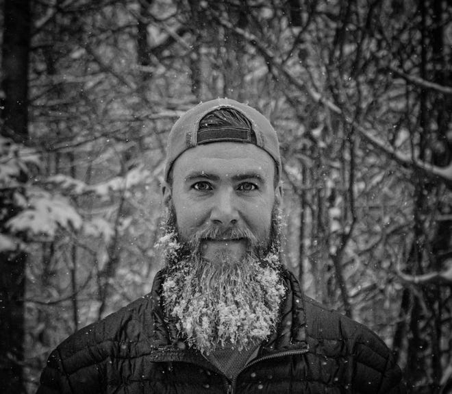 "Boonton native Nate Woodruff, aka ""Whisky Nate,"" sold his belongings earlier this year and set out with his dog, Skye, to travel the United States in a van to pursue his passions for whiskey, photography and hiking. Distillery sponsors are underwriting his journey. Follow his Instagram posts @whiskywithaview. Location: The White Mountains, New Hampshire."