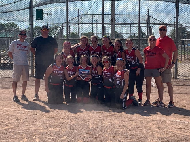 The Livonia Storm 12U fast-pitch softball team took home the 2020 USSSA Michigan State Championship Aug. 23.