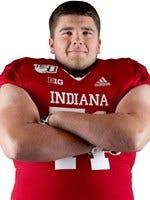Indiana University lineman Brady Feeney has waged a life-threatening battle against the coroavirus.