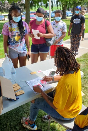 Lakeland University students moved back to campus for the fall semester Aug. 23-25, 2020.