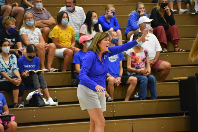 Dixie High's new coach Erin Wedemeyer takes over the Flyers volleyball program.