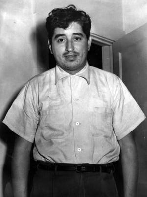 May 7, 1955 Ruben Salazar after 25 hours in city jail.