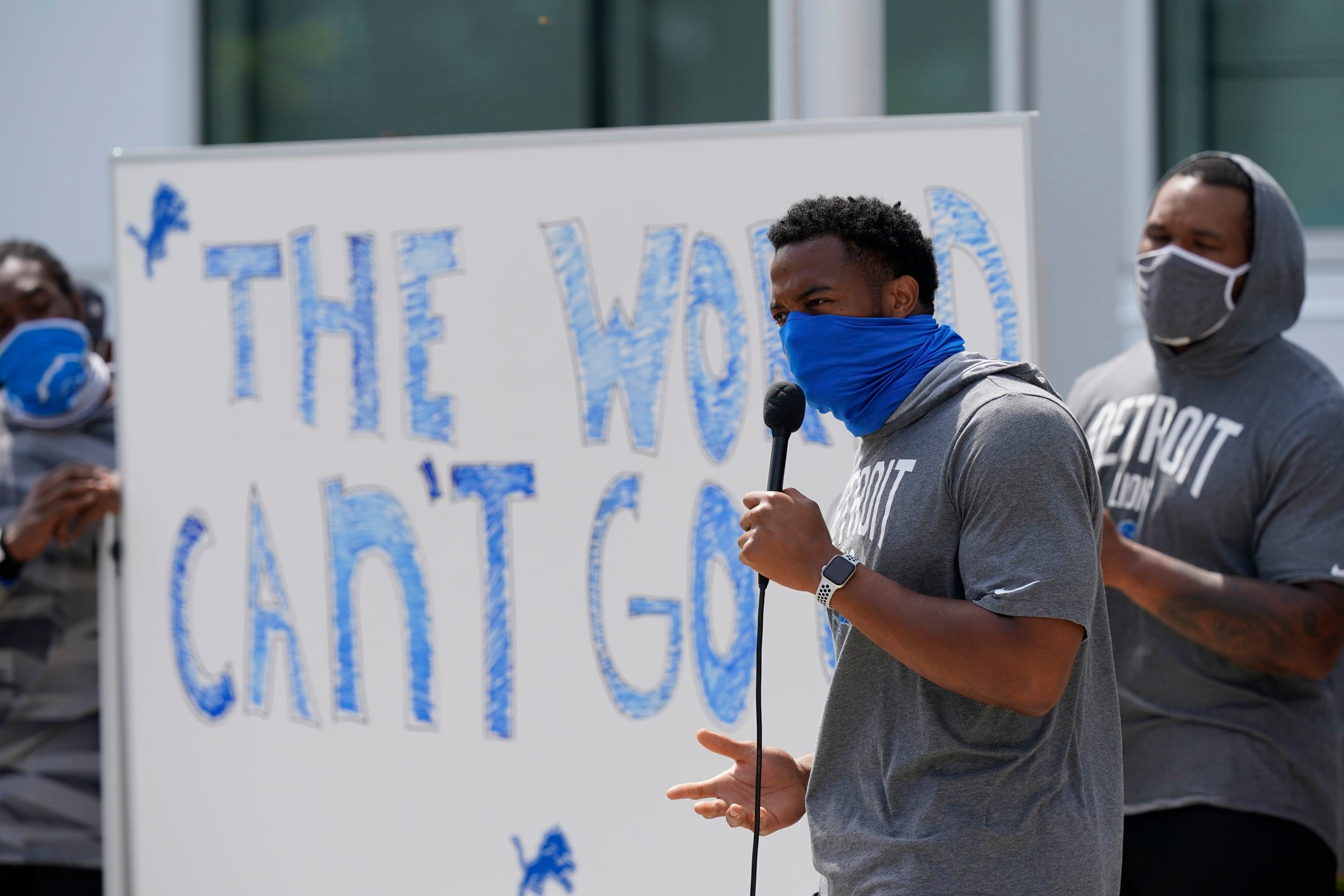 Opinion: Will NFL teams boycott? Lions' response to Jacob Blake shooting could mark new era in protests thumbnail