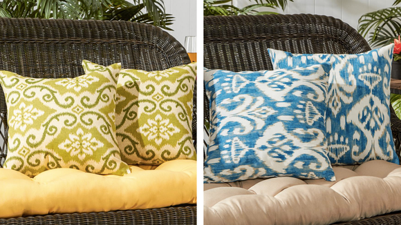 Home Depot offers a wide selection of indoor and outdoor throw pillows