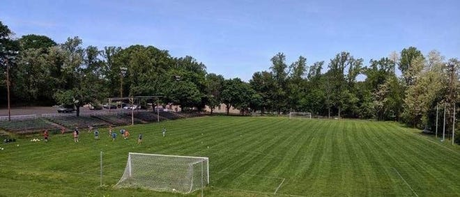 Amateur and adult soccer teams continue to meet at the Trifecta Sporting Club in Trevose while Bensalem Township pursues eminent domain to acquire the 18-acre parcel for recreational use.