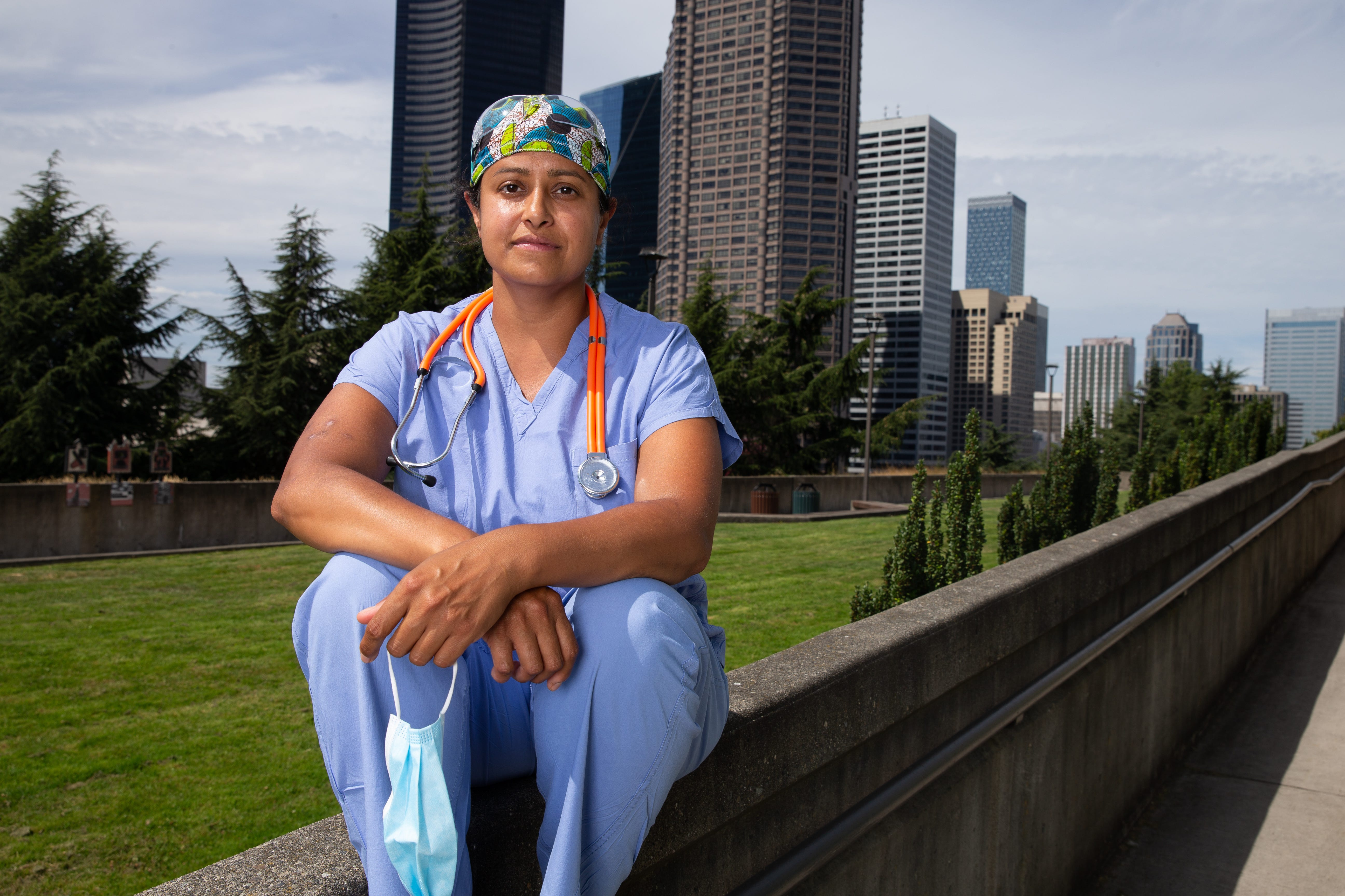 At the center of the first major U.S. outbreak of the coronavirus, Seattle, Dr. Sachita Shah said her hospital struggled to keep up with changing CDC testing guidance.