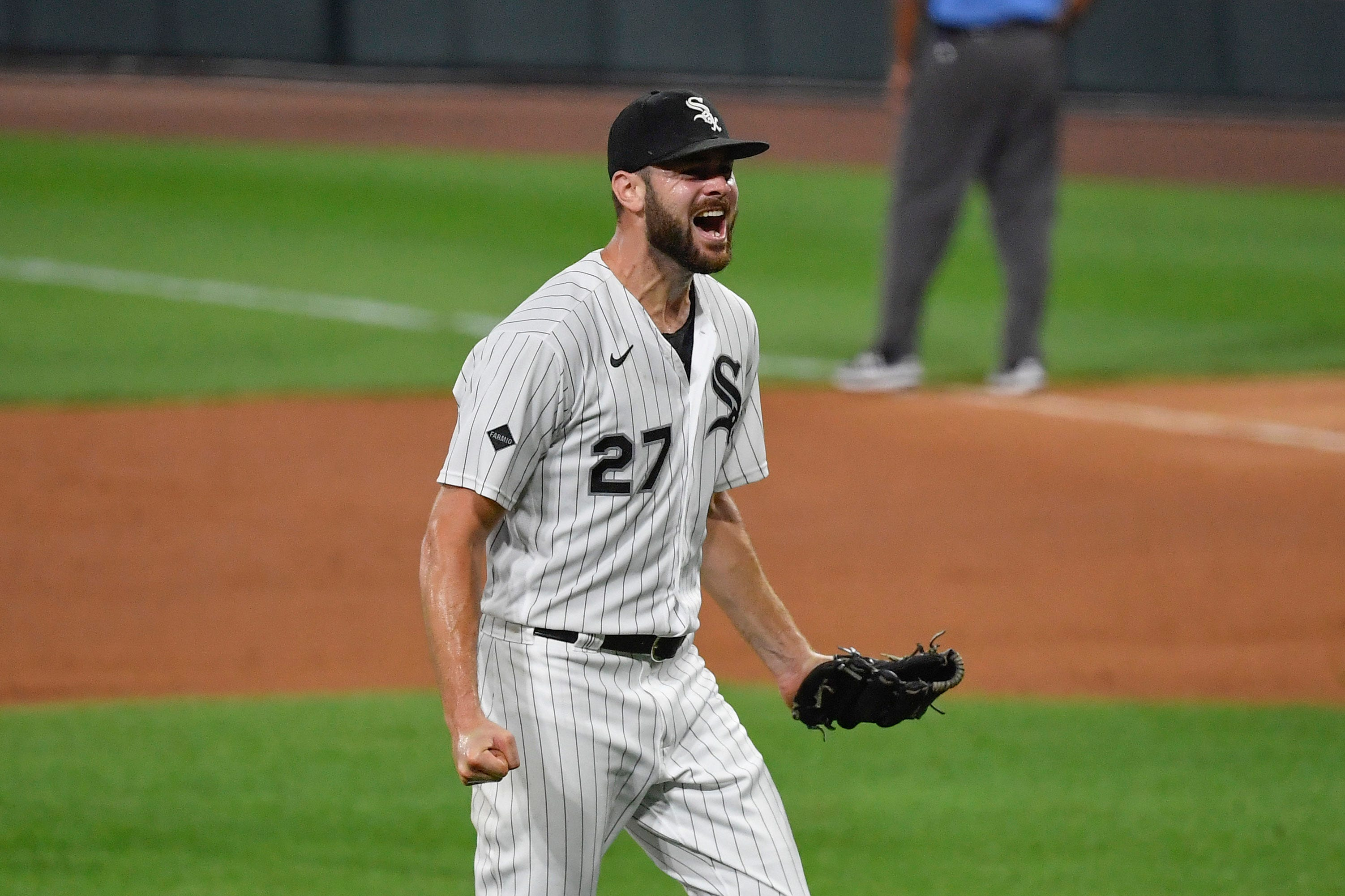 Chicago White Sox pitcher Lucas Giolito throws MLB s first no-hitter of 2020 season