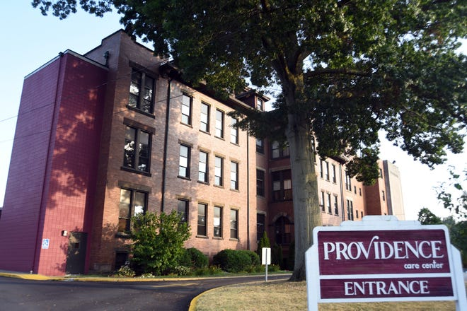 Providence Care Center in Beaver Falls reported 55 total COVID cases in residents this week, which includes 29 new cases. [Lucy Schaly/For BCT]
