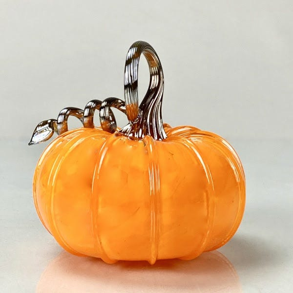 STARworks glass pumpkin
