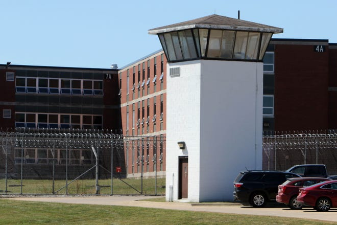 The Mount Pleasant Correctional Facility, an Iowa Department of Corrections correctional institution, is shown Thursday, Aug. 27, 2020, in Mount Pleasant. MPCF was notified Tuesday three COVID-19 tests they had submitted were positive.