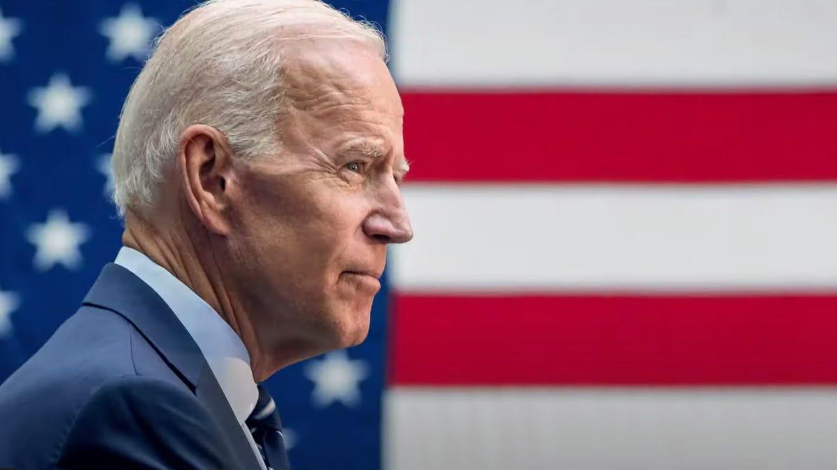 Joe Biden said he would actually check on Donald Trump during debates