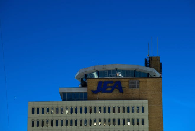 The JEA headquarters building Monday evening, July 20, 2020 in downtown Jacksonville, Florida.