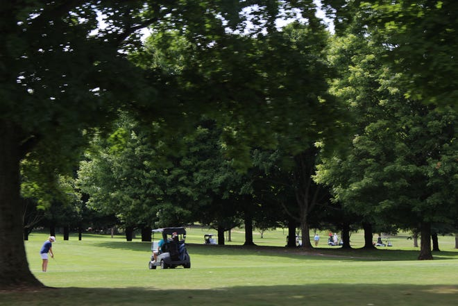 The City of Stow recently purchased the Hanson property, which comprises the Fox Den Golf Course driving range, the Hanson family home, the former tree farm and a small family cemetery.