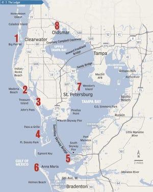 mapa de agua salada