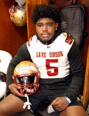 Lake Gibson linebacker Gavin Barthiel has committed to play at Georgia Tech after his senior season.