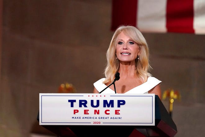 Former White House counselor Kellyanne Conway is backing Ohio Senate candidate Bernie Moreno.