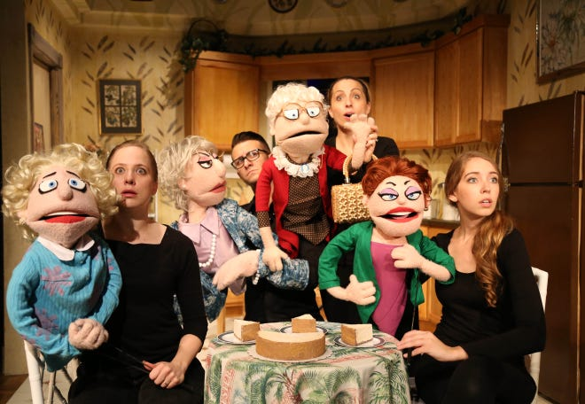 """That Golden Girls Show! A Puppet Parody"" will be performed March 24-28 at the Kravis Center's Rinker Playhouse."