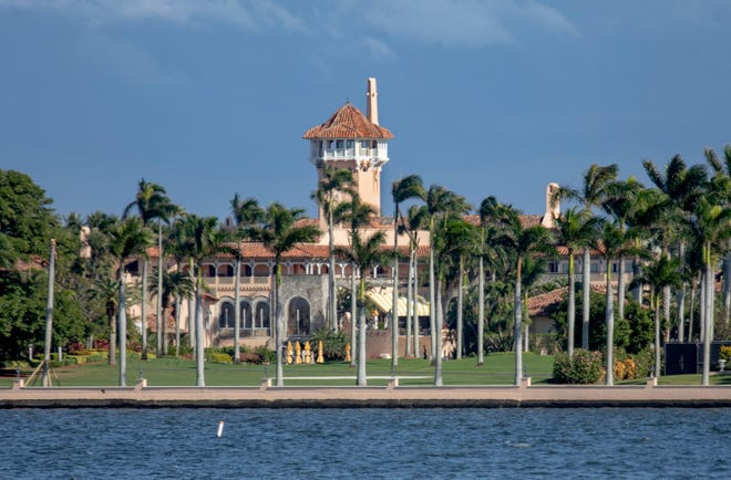 The Mar-a-Lago Club in Palm Beach, Florida. (GREG LOVETT / The Palm Beach Post)