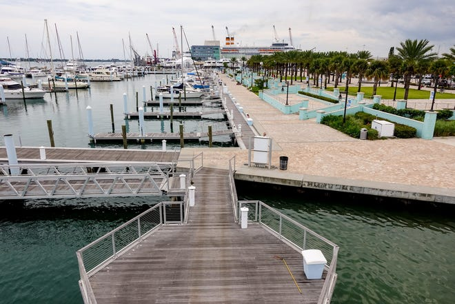 For more than two years, Riviera Beach has been working on a plan to redevelop its marina waterfront. [RICHARD GRAULICH/palmbeachpost.com]