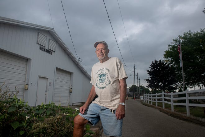 Jim May, 90, is stepping down from the fair board after serving for nearly 60 years.