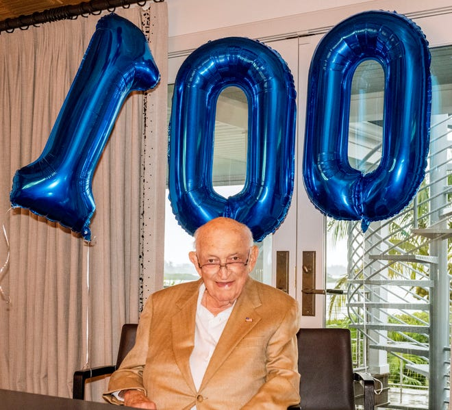 Stanley Kane celebrated his 100th birthday in June.