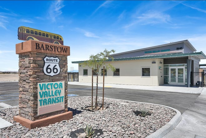 The Victor Valley Transit Authority opened a new public transit facility in Barstow on Aug. 11, 2020.