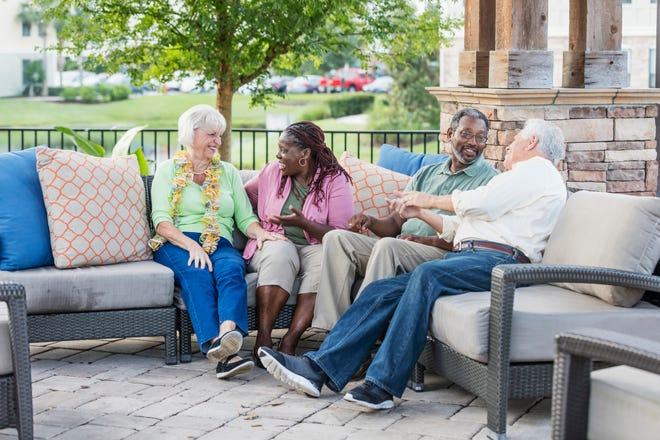 Staying safe, happy and healthy are important aspects of senior community living.