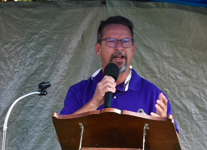 Fremont City Schools Superintendent Jon Detwiler asks the Hayes Memorial UMC congregation to pray for the students, families, and staff who are facing a uniquely challenging school year.