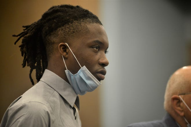 Jaywuan Peavy, 19, pleaded guilty last month to charges in connection with social media posts referring to threats of rioting and destructive activity.