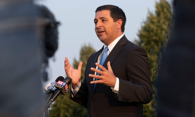 Wisconsin Attorney General Josh Kaul, shown here at a news conference last August, says sexual assault allegations in the National Guard should be thoroughly reviewed.