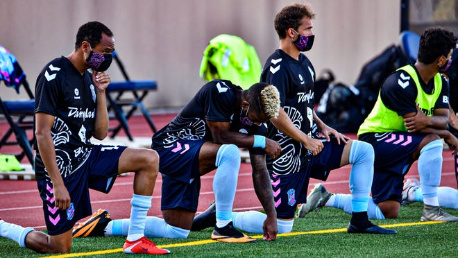 Forward Madison FC and the United Soccer League announced Thursday morning that the club's upcoming match would be canceled, to put attention on racial justice issues in the state and nation.