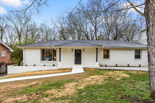 After: Jon Cressman updated the house at 311 Mckennell Dr. in Nashville without spending a dime out of pocket. His real estate company provided a zero-interest loan.