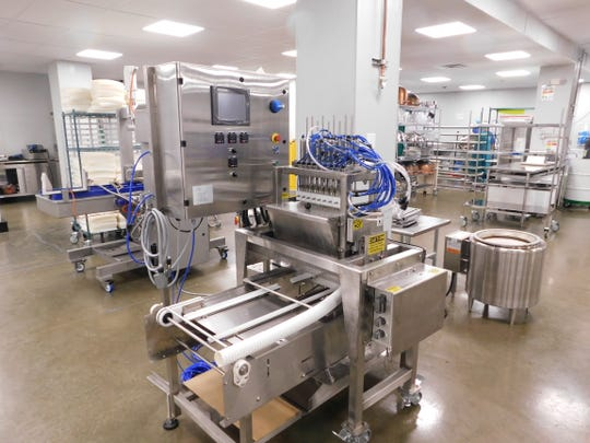 In preparation for edibles rollout, Trulieve built a 10,000-square-foot commercial-grade kitchen at its production facility in Quincy.