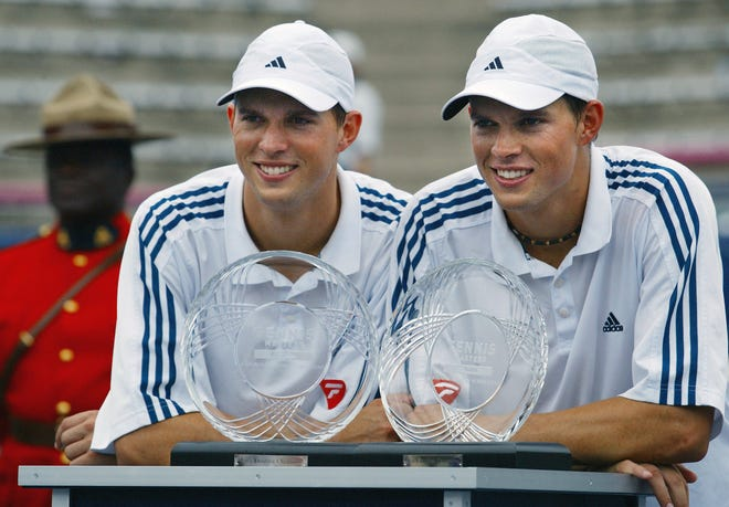 Camarillo's Bob, right, and Mike Bryan have officially announced their retirement. The twins are the most successful doubles tandem in tennis history.