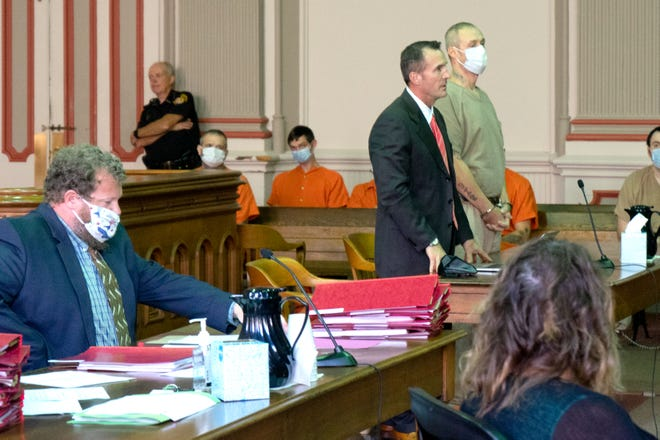 Jason Tucker pleads guilty to theft of a motor vehicle in Muskingum County Common Pleas Court.
